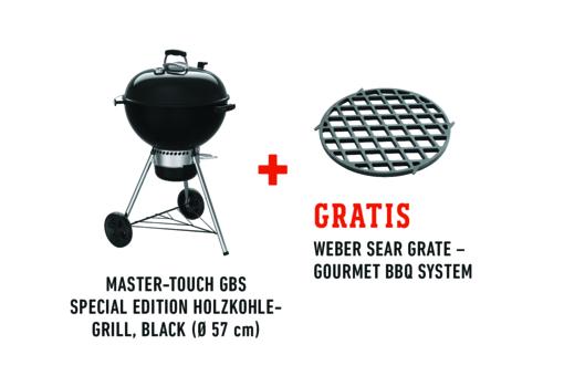 Master-Touch GBS Premium E-5775 Holzkohlegrill Bild 4