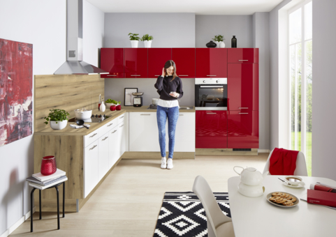 Winkelküche Bild 1