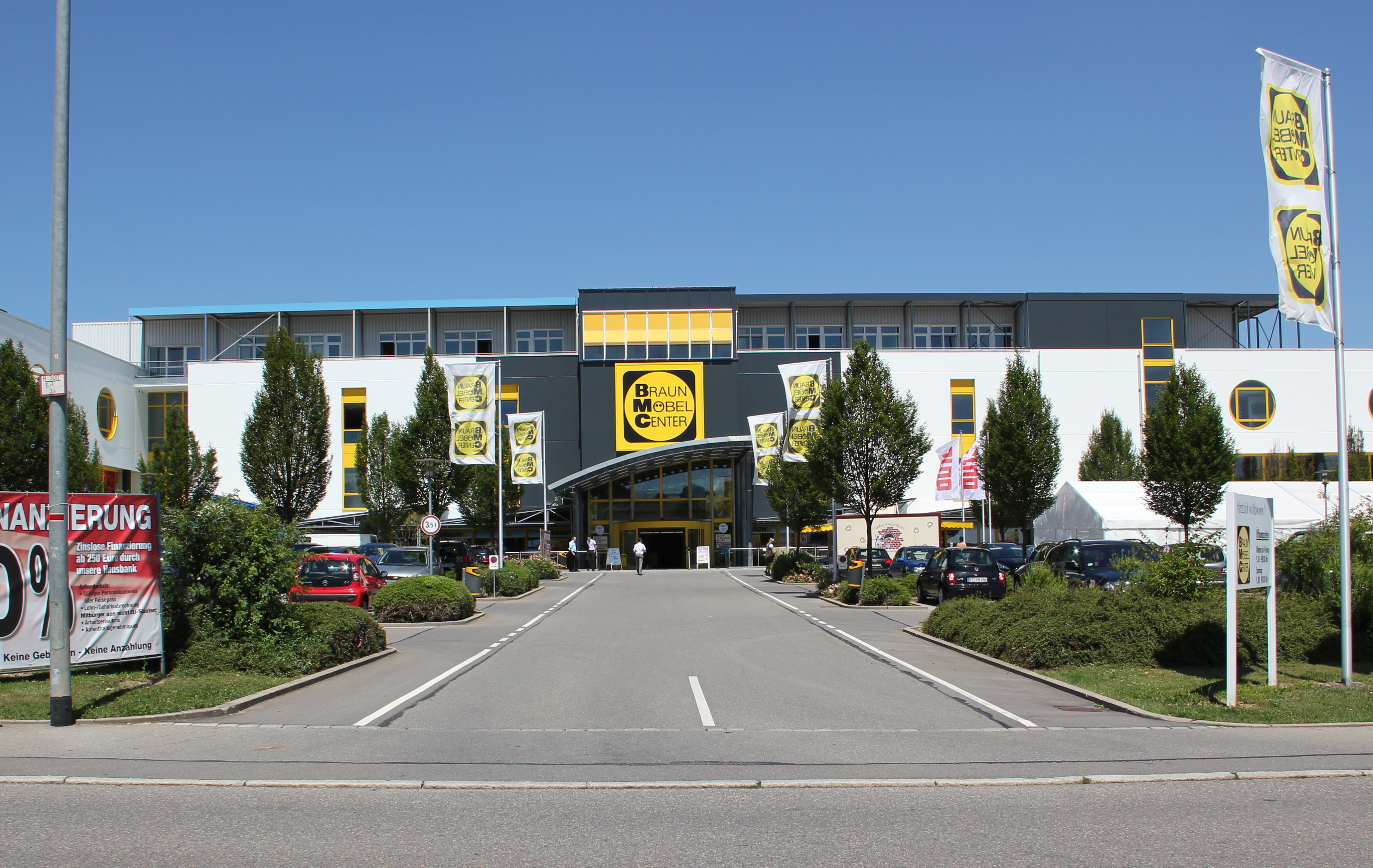Braun Möbel Center in Reutlingen
